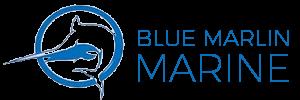 blue marlin marine logo